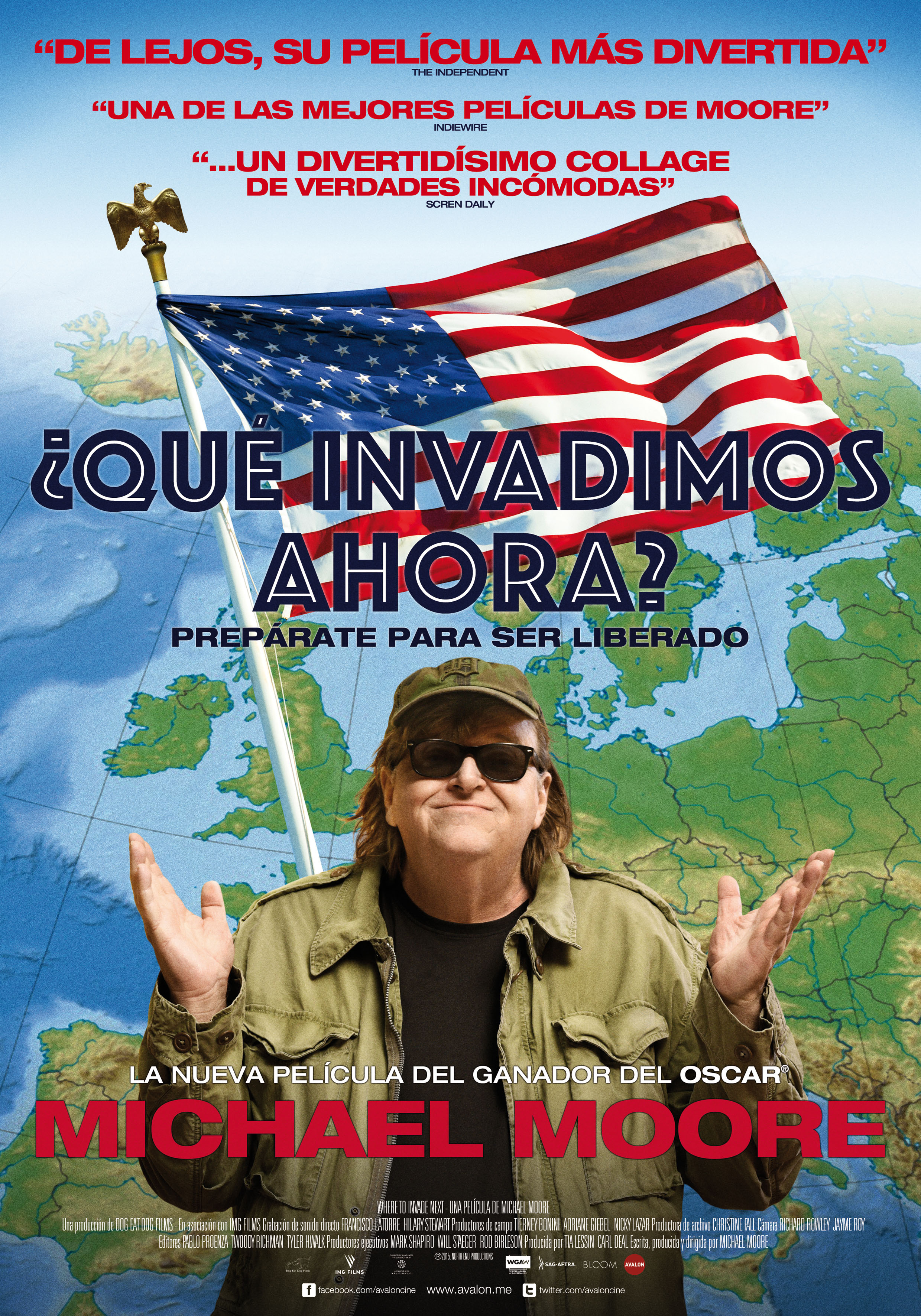 ¿Qué invadimos ahora? Michael Moore documental 2016 Where To Invade Next